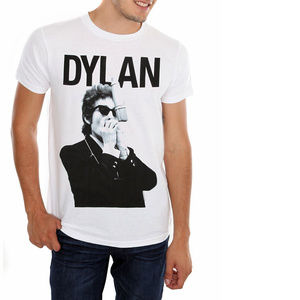 Bob Dylan Harmonica T-Shirt Official M L NWT